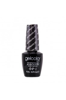 OPI GelColor - Soak Off Gel Polish - My Private Jet - 0.5oz / 15ml