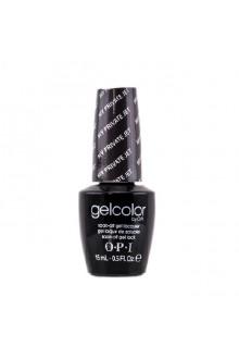 OPI GelColor - Soak Off Gel Polish - My Private Jet - 0.5oz / 15ml