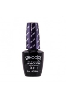 OPI GelColor - Soak Off Gel Polish - OPI Ink. - 0.5oz / 15ml
