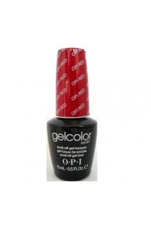OPI GelColor - Soak Off Gel Polish - The Femme Fatales Collection - OPI Red - 0.5oz / 15ml