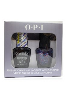 OPI GelColor - Polka.com w/ FREE Matching Nail Lacquer -  0.5oz / 15ml each