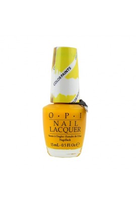 OPI - Color Paints 2015 Collection - Blendable Lacquer - Primarily Yellow - 15ml / 0.5oz
