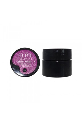 OPI GelColor - Artist Series - Rated V For Violet - 0.21oz / 6g