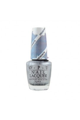 OPI - Color Paints 2015 Collection - Blendable Lacquer - Silver Canvas - 15ml / 0.5oz
