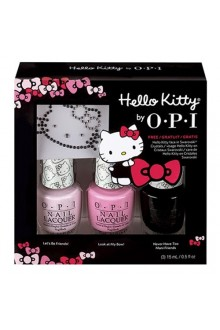 OPI Nail Lacquer - Hello Kitty Collection - Sparkle and Shine Kit - 15ml / 0.5oz Each