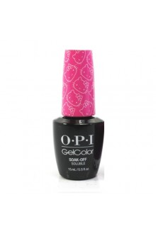 OPI GelColor - Hello Kitty Collection - Super Cute In Pink - 0.5oz / 15ml
