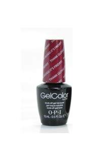 OPI GelColor - Nordic Collection - Thank Glogg It's Friday! - 0.5oz / 15ml