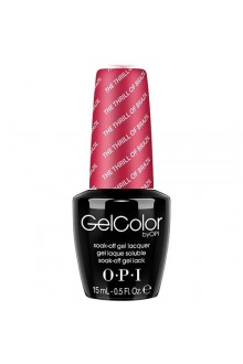 OPI GelColor - Soak Off Gel Polish - The Femme Fatales Collection - The Thrill Of Brazil - 0.5oz / 15ml