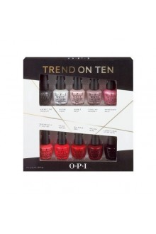 OPI Nail Lacquer - Gwen Stefani Holiday 2014 Minis - Trend on Ten - 3.75ml each
