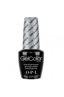 OPI GelColor - Coca-Cola 2014 Collection - Turn On The Haute Light - 0.5oz / 15ml