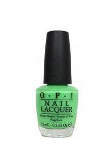 OPI Nail Lacquer - Neons 2014 Collection - You Are So Outta Lime! - 0.5oz / 15ml