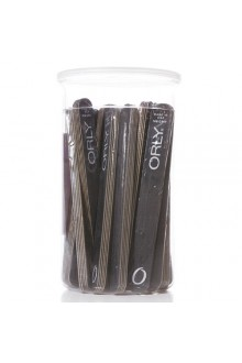 Orly Nail Files - Black Board - Medium 180 Grit - 100pc Canister
