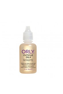 Orly Nail Treatment - Cuticle Oil+ - Cuticle & Nail Treatment Oil - 1oz / 30ml