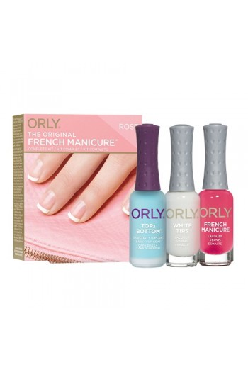 Orly Nail Lacquer - The Original French Manicure Kit - ROSE