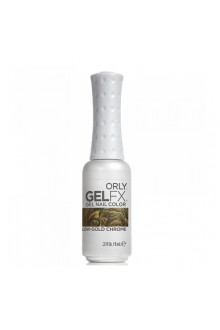 Orly Gel FX Gel Nail Color - Yellow-Gold Chrome - 0.3oz / 9ml
