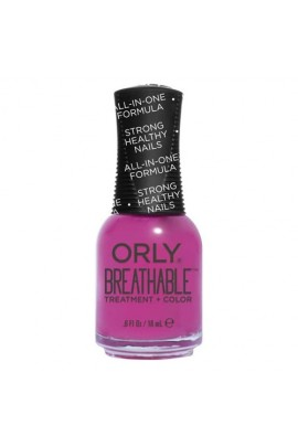 Orly Breathable Nail Lacquer - Treatment + Color - Give Me a Break - 0.6oz / 18ml