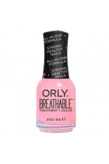 Orly Breathable Nail Lacquer - Treatment + Color - Happy & Healthy - 0.6oz / 18ml