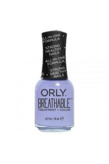 Orly Breathable Nail Lacquer - Treatment + Color - Just Breathe - 0.6oz / 18ml
