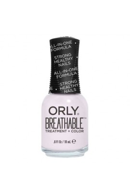Orly Breathable Nail Lacquer - Treatment + Color - Light as a Feather - 0.6oz / 18ml
