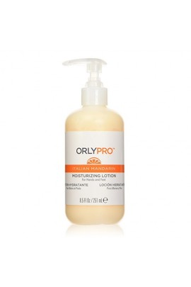Orly Pro - Italian Mandarin Manicure & Pedicure - Moisturizing Lotion - 8.5oz / 251ml