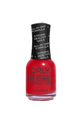 Orly Breathable Nail Lacquer - Treatment + Color - Love My Nails - 0.6oz / 18ml