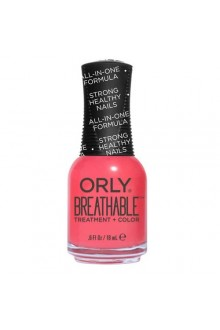 Orly Breathable Nail Lacquer - Treatment + Color - Nail Superfood - 0.6oz / 18ml