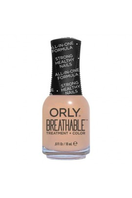 Orly Breathable Nail Lacquer - Treatment + Color - Nourishing Nude - 0.6oz / 18ml