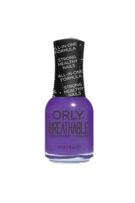 Orly Breathable Nail Lacquer - Treatment + Color - Pick-Me-Up - 0.6oz / 18ml