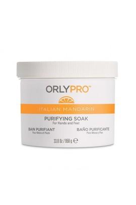 Orly Pro - Italian Mandarin Manicure & Pedicure - Purifying Soak - 33.8oz / 958ml