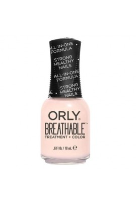 Orly Breathable Nail Lacquer - Treatment + Color - White Tips - 0.6oz / 18ml