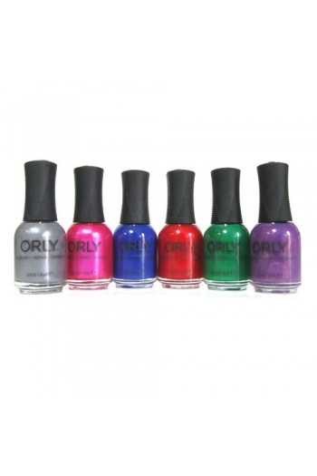 Orly Nail Lacquer - Sunset Strip Winter 2016 Collection - ALL 6 Colors - 0.6oz / 18ml EACH