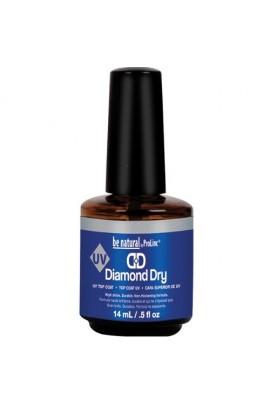 Prolinc Be Natural Diamond Dry UV Top Coat - 0.5oz / 15ml