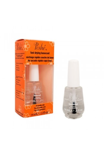 Poshe Fast Drying BASECOAT - 14ml  / 0.5oz