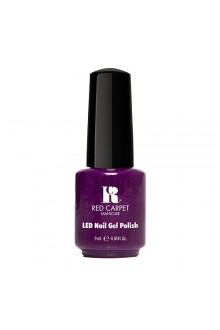 Red Carpet Manicure LED Gel Polish - Power of the Gem Collection - Amethyst - 0.3oz / 9ml