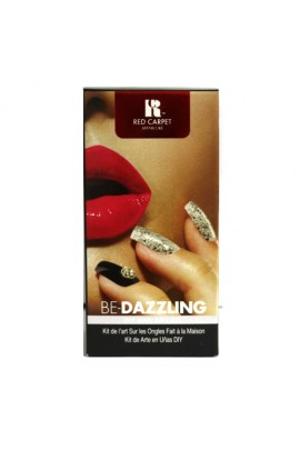 Red Carpet Manicure - DIY Nail Art Kit - Be-Dazzling