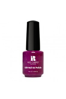 Red Carpet Manicure LED Gel Polish - Power of the Gem Collection - Garnet - 0.3oz / 9ml