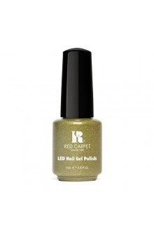 Red Carpet Manicure LED Gel Polish - Power of the Gem Collection - Peridot - 0.3oz / 9ml