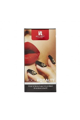 Red Carpet Manicure - DIY Nail Art Kit - Rock Royalty