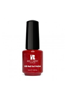 Red Carpet Manicure LED Gel Polish - Power of the Gem Collection - Ruby - 0.3oz / 9ml
