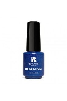 Red Carpet Manicure LED Gel Polish - Power of the Gem Collection - Sapphire - 0.3oz / 9ml
