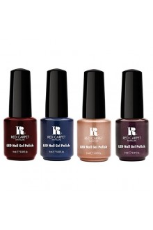 Red Carpet Manicure LED Gel Polish - A Lavish Affair Fall 2015 Collection - ALL 4 Colors - 0.3oz / 9ml Each