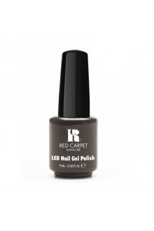 Red Carpet Manicure LED Gel Polish - Always Slate Never Early - 0.3oz / 9ml