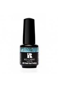 Red Carpet Manicure LED Gel Polish - Trendz Collection - Blue Jade Shoes - 0.3oz / 9ml