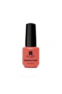 Red Carpet Manicure LED Gel Polish - Coral Wishes - 0.3oz / 9ml