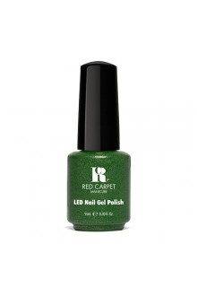 Red Carpet Manicure LED Gel Polish - Power of the Gem Collection - Emerald - 0.3oz / 9ml