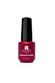Red Carpet Manicure LED Gel Polish - Mulled Wine - 0.3oz / 9ml