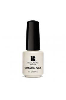 Red Carpet Manicure LED Gel Polish - Power of the Gem Collection - Pearl - 0.3oz / 9ml