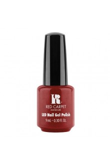 Red Carpet Manicure LED Gel Polish - Rapturous in Red - 0.3oz / 9ml