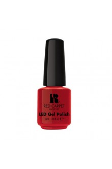 Red Carpet Manicure LED Gel Polish - Red Carpet Reddy - 0.3oz / 9ml