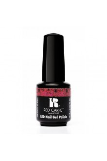 Red Carpet Manicure LED Gel Polish - Trendz Collection - Roll Out the Rubies - 0.3oz / 9ml